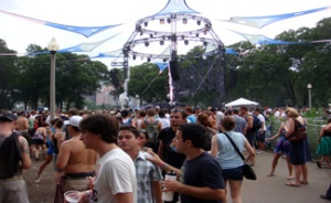 Hecules and Love Affair DJ set at Lollapalooza 2009