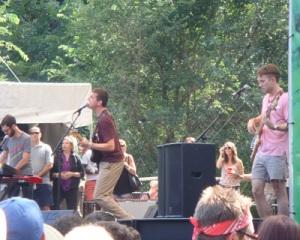 Cymbals Eat Guitars at Lollapalooza 2010