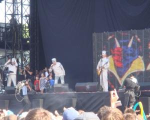 Devo - Day 1 at Lolla-2010
