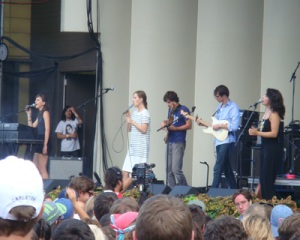 Dirty Projectors at Lollapalooza 2010