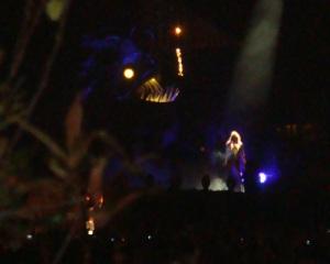 Lady Gaga - Day 1 at Lollapalooza 2010