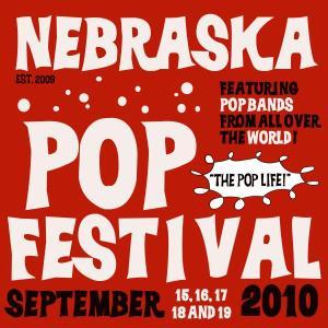 Nebraska Pop Festival 2010 Poster
