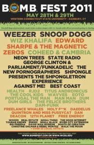 B.O.M.B. Fest 2011 Poster