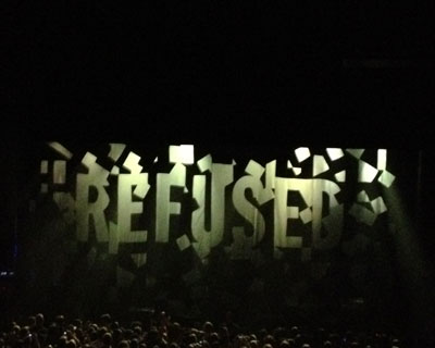 Refused curtain