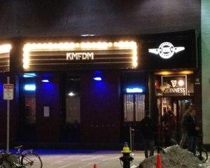KMFDM - The Paradise sign
