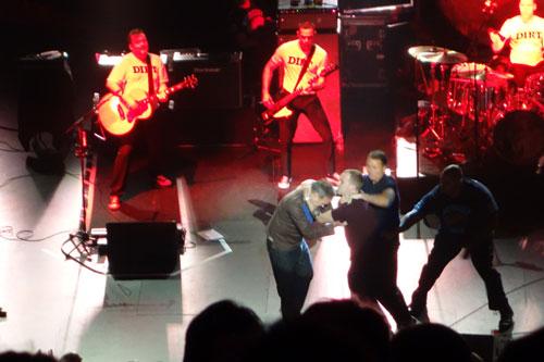 Morrissey hug 2