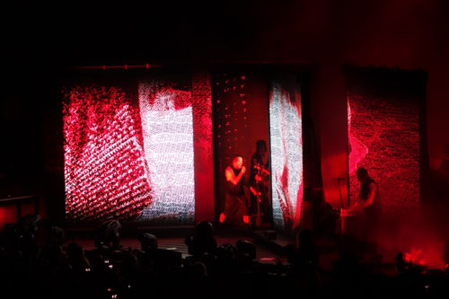 Nine Inch Nails at the Xfinity Center 7-29-14