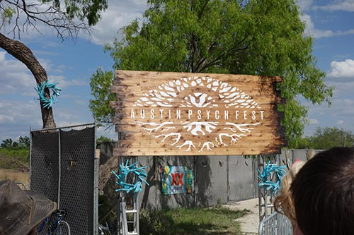 Austin Psych Fest 7 Sign