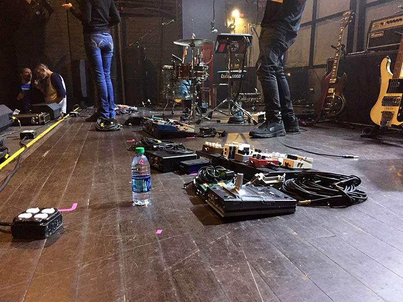 Warpaint pedals